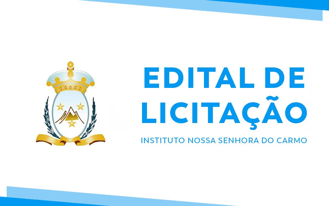 EDITAL DE LICITAÇÃO PROCESSO ANÁLOGO Nº 020/2020